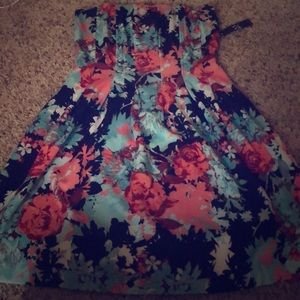 Strapless Dress — BRAND NEW
